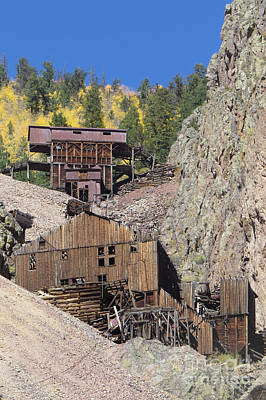 Photograph - Creede Mines by Frank Townsley