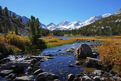 Photograph - Creek At Little Lake Valley by Eastern Sierra Gallery