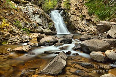 Photograph - Creek Below Falls Creek Falls by Adam Jewell