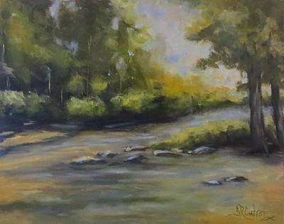 Painting - Creek Bottom by Sandra Reeves
