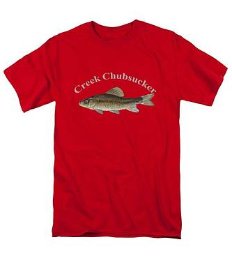 Creek Chubsucker Fish By Dehner Art Print by T Shirts R Us -