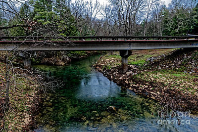 Photograph - Creek Convergence by Paul Mashburn