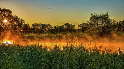 Photograph - Creek Flames #g5 by Leif Sohlman