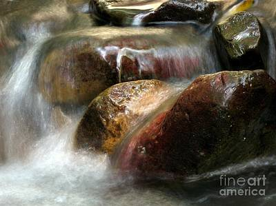 Photograph - Creek In The Mountains by Yali Shi