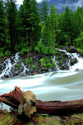 Photograph - Creek Near Leavenworth  by Craig Perry-Ollila
