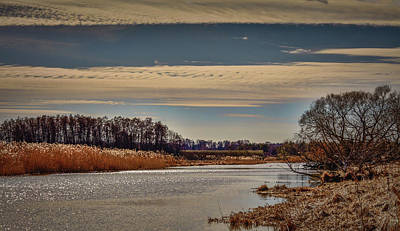 Photograph - Creek Of City Enkoeping View  #g6 by Leif Sohlman