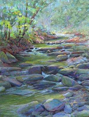 Painting - Creek Shadows by Marsha Savage