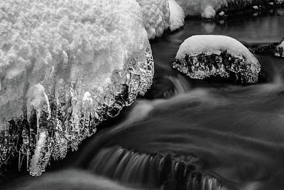 Photograph - Creek Under The Ice by Andreas Levi