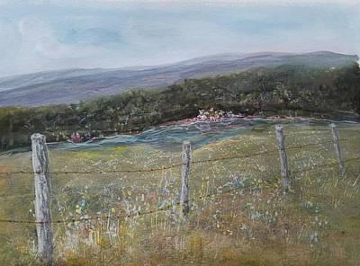 Painting - Creek Walk by Robert Harrington