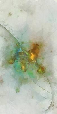 Slate Pattern Painting - Creek's Spacing  Id 16101-033431-17590 by S Lurk