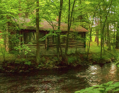 Photograph - Creekside Cottage 2 by Trey Foerster