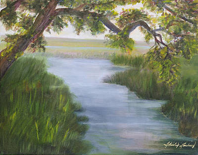 Painting - Creekside by Shirley Lawing