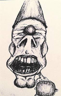 Creep Art Print by Jonathan Burdett