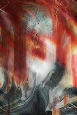 Creep Art Print by Linda Sannuti