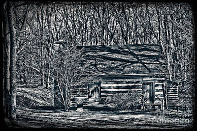 Photograph - Creepy Cabin In The Woods by Sharon Dominick