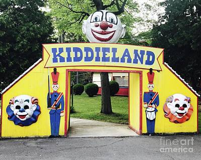 Photograph - Creepy Clowns by Michael Krek