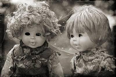 Photograph - Creepy Dolls by Ankeeta Bansal