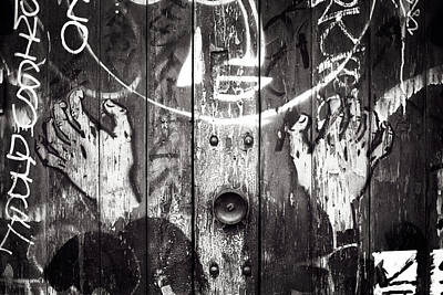 Photograph - Creepy Door by Tim Nichols