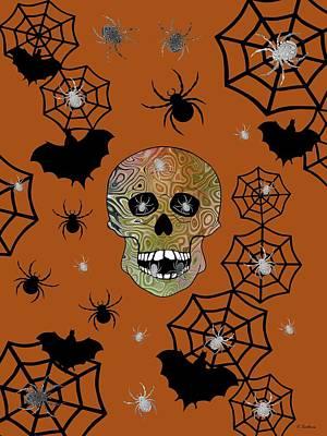 Digital Art - Creepy Halloween by Kathleen Sartoris