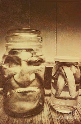 Jars Photograph - Creepy Halloween Scenes by Jorgo Photography - Wall Art Gallery