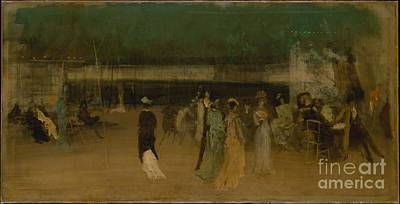 Whistler Painting - Cremorne Gardens by Celestial Images