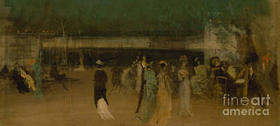 High Society Painting - Cremorne Gardens by James Abbott McNeill Whistler