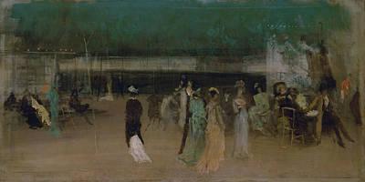 Whistler Painting - Cremorne Gardens, No 2 by James Abbott McNeill Whistler