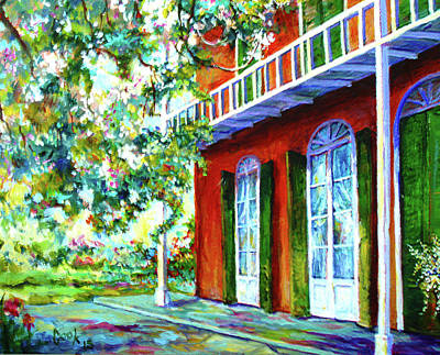 Creole Cottage Wall Art - Painting - Creole Cottage by Kenneth Cook