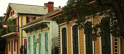 Creole Cottage Wall Art - Photograph - Creole Cottages by Claudia Walker