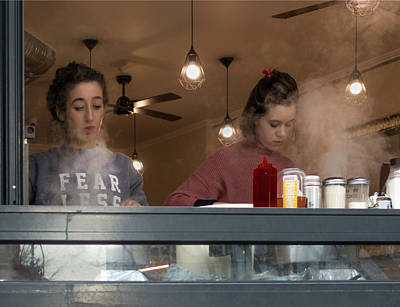 Photograph - Crepe Makers by Jessica Levant