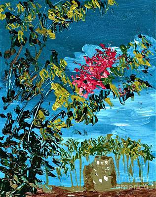 Painting - Crepe Myrtle by Allison Constantino