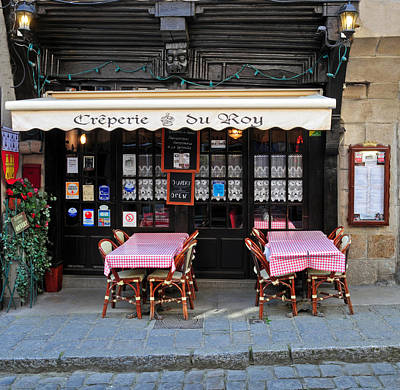 Creperie Photograph - Creperie Du Roy by Dave Mills