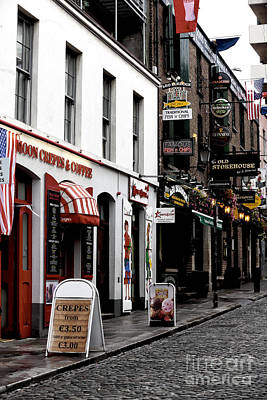 Photograph - Crepes And Coffee In Dublin by John Rizzuto