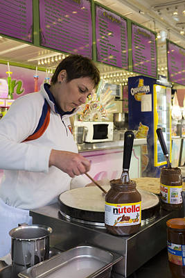 Bear Photography - Crepes With Nutella by Hugh Smith