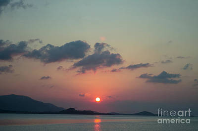 Photograph - Crepuscular Light by Michelle Meenawong