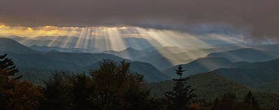 Photograph - Crepuscular Rays by Rick Hartigan