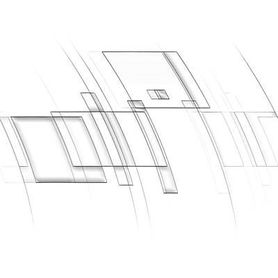 Digital Art - Crescendo Composition by John WR Emmett
