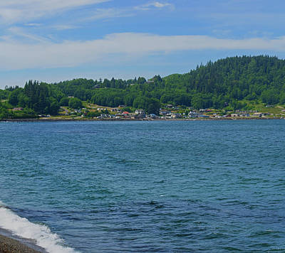 Photograph - Crescent Beach Center Panoramic by Tikvah's Hope
