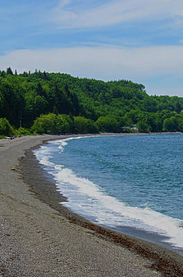 Photograph - Crescent Beach Left Panoramic by Tikvah's Hope