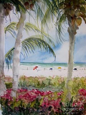 Crescent Beach Marco Island Art Print