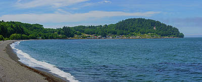 Photograph - Crescent Beach Panoramic by Tikvah's Hope