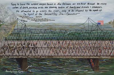 Crescent City Dis-connect Art Print by Beverly Kimble Davis