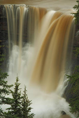Photograph - Crescent Falls by Tasty Mountain Goodness