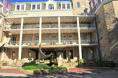 Photograph - Crescent Hotel Eureka Springs by Brian Hoover