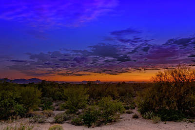 Mark Myhaver Rights Managed Images - Crescent Sunset h15 Royalty-Free Image by Mark Myhaver