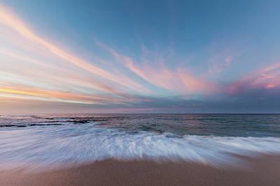 Ethereal Dreamy Ocean Photograph - Cresent by Grant Taylor