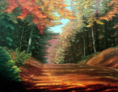 Cressman's Woods Original by Hanne Lore Koehler