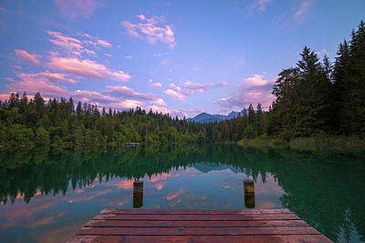 Photograph - Cresta Lake by Ralf Rohner