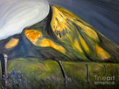 Painting - Crested Butte Mtn. by Kathryn Barry