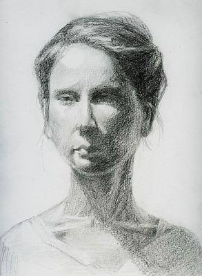 Drawing - Crestina by Ping Yan